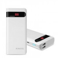 Внешний аккумулятор Romoss Sense 4P Power Bank 10400 mAh - https://esmart66.ru