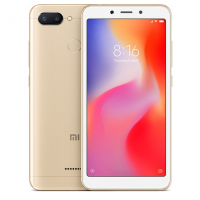 Смартфон Xiaomi Redmi 6A 2/16Gb Gold/Золотой RU - https://esmart66.ru