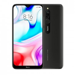 Смартфон Xiaomi Redmi 8 4/64Gb Black/Чёрный оникс RU - https://esmart66.ru